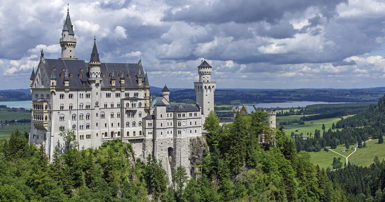 Nojšvajnštajn dvorac Bavarska