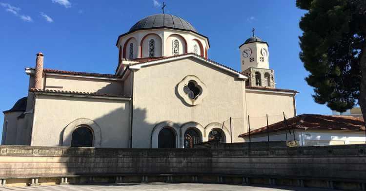 Crkva u gradu Kavala