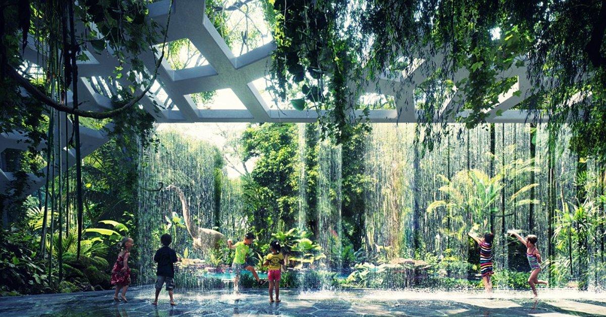 Hotel i prašuma u njemu, Hotel u Dubaiju