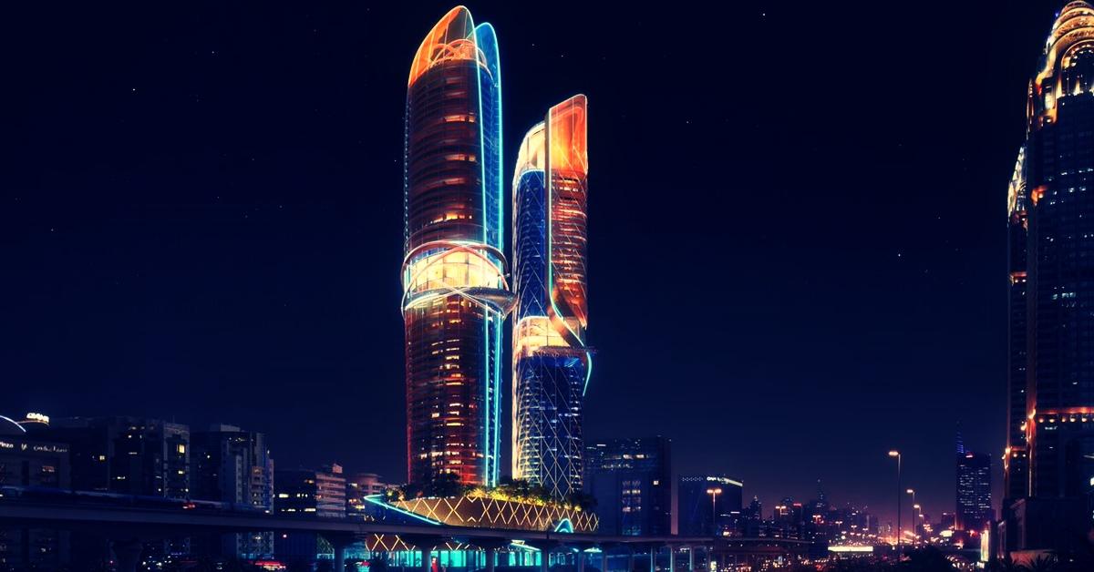 Hotel Rosemont and Residences Dubai noć
