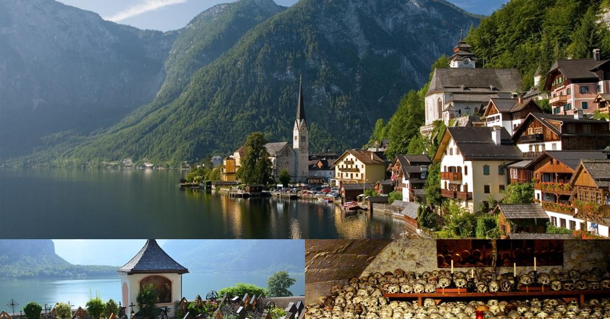 Bajkoviti Halštat u Austriji i crkva sa lobanjama najčudnije atrakcije