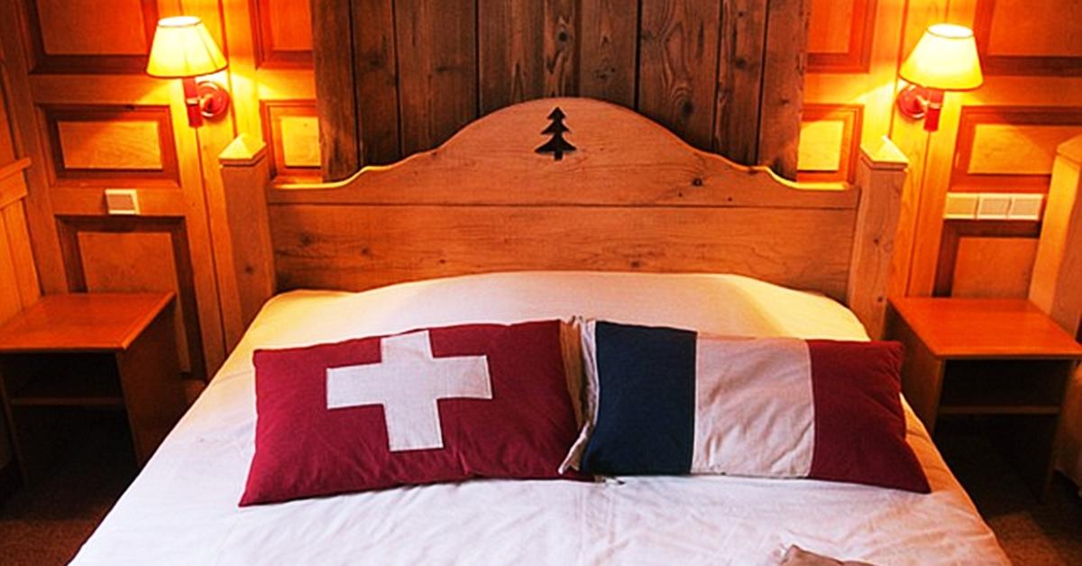 Hotel Arbez na francusko švajcarskoj granici