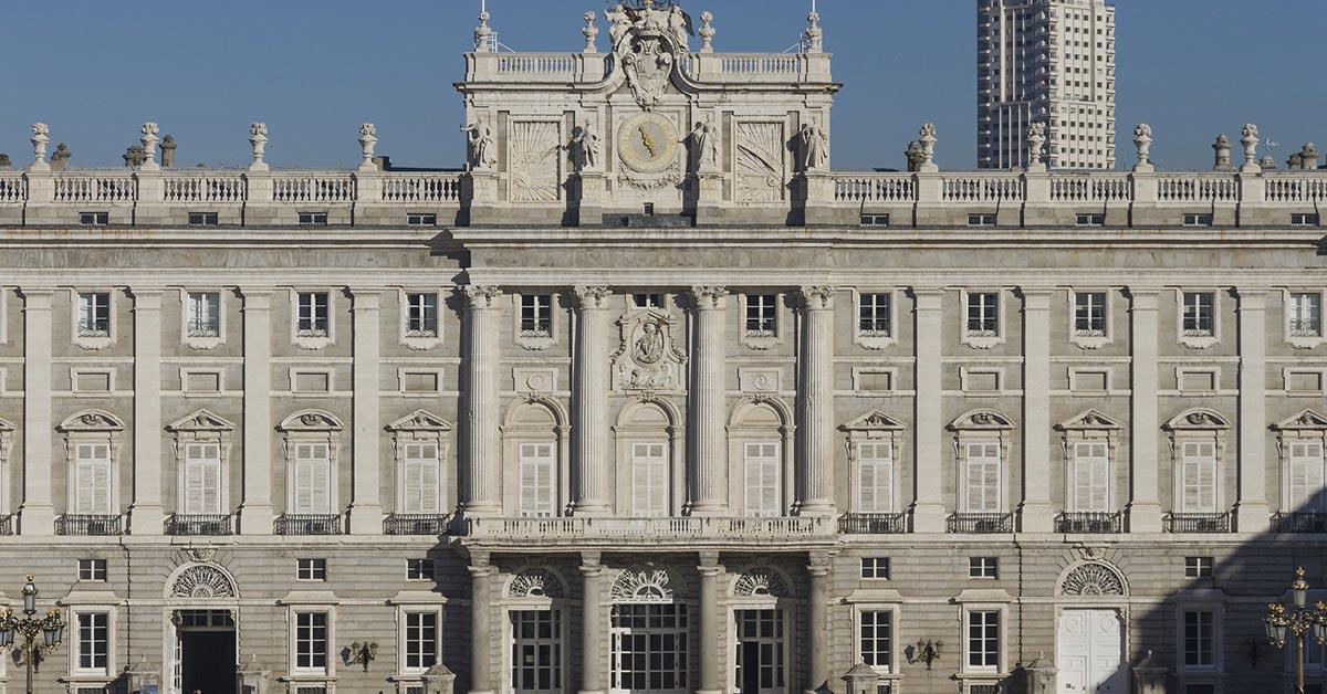 kraljevska palata u Madridu, bivša muslimanska tvrđava