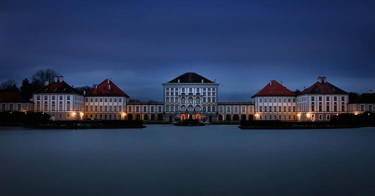 Nimfenburg palata Schloss Nymphenburg