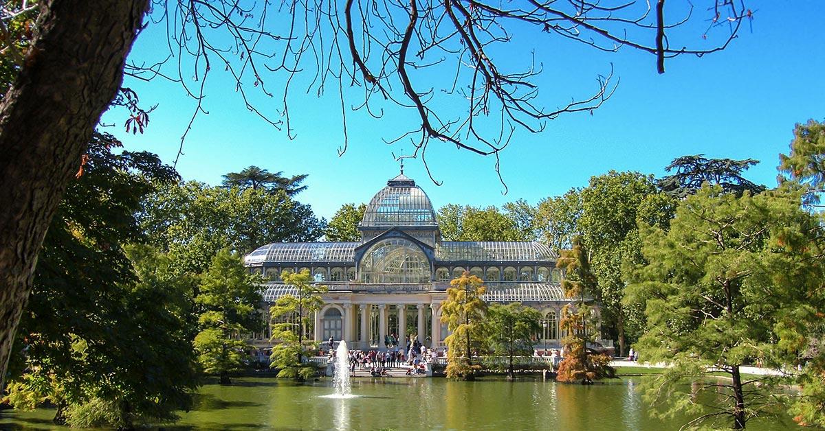 Retiro Park u Madridu, mesto za odmor