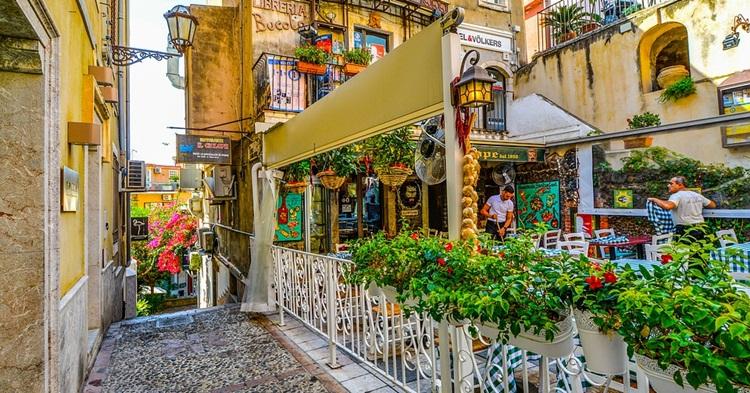 Restorani u Taormini