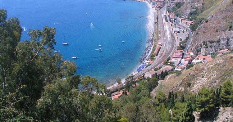 Plaže na Taormini