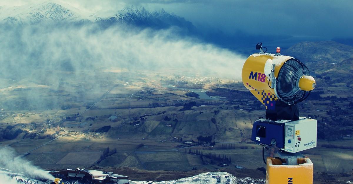 Mašina za pravljenje snega za skijanje preko leta - Fabrika snega