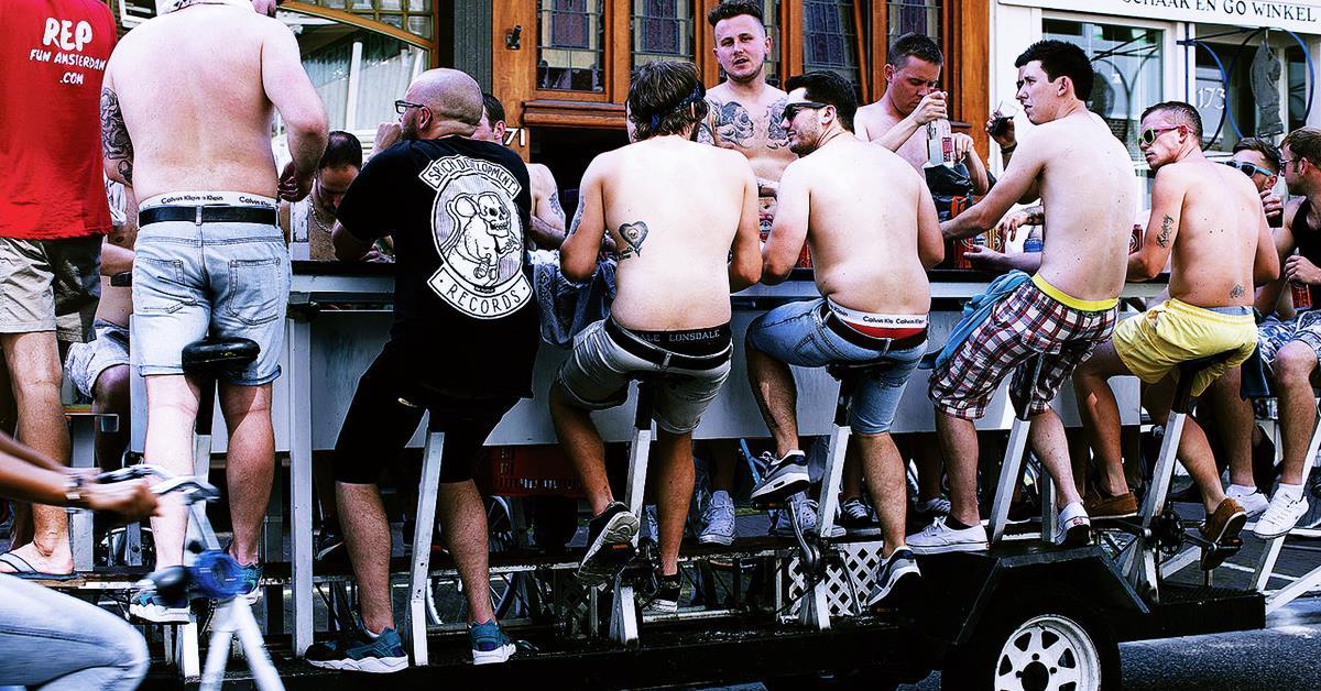 Pokretni barovi sa pivom Amsterdam