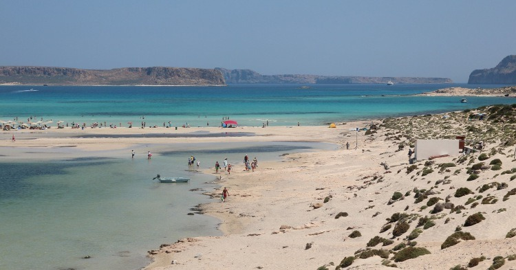 Balos plaža na Kritu