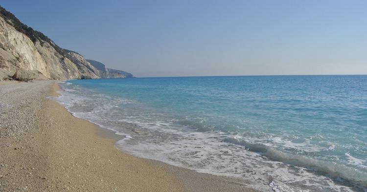 Egremni plaža, Lefkada