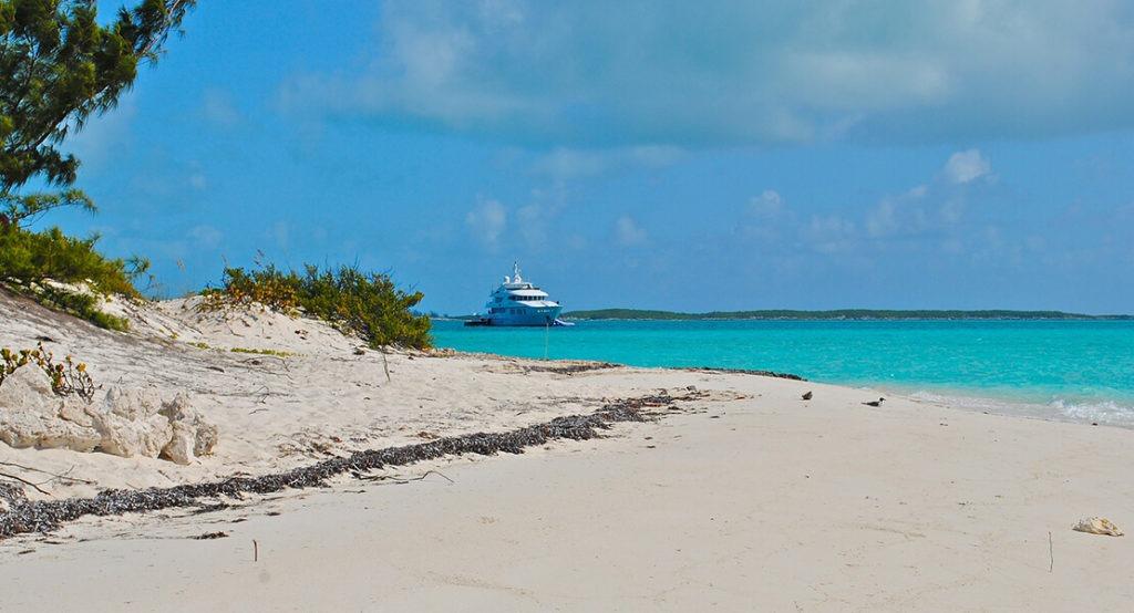 Plaža na Bahamima