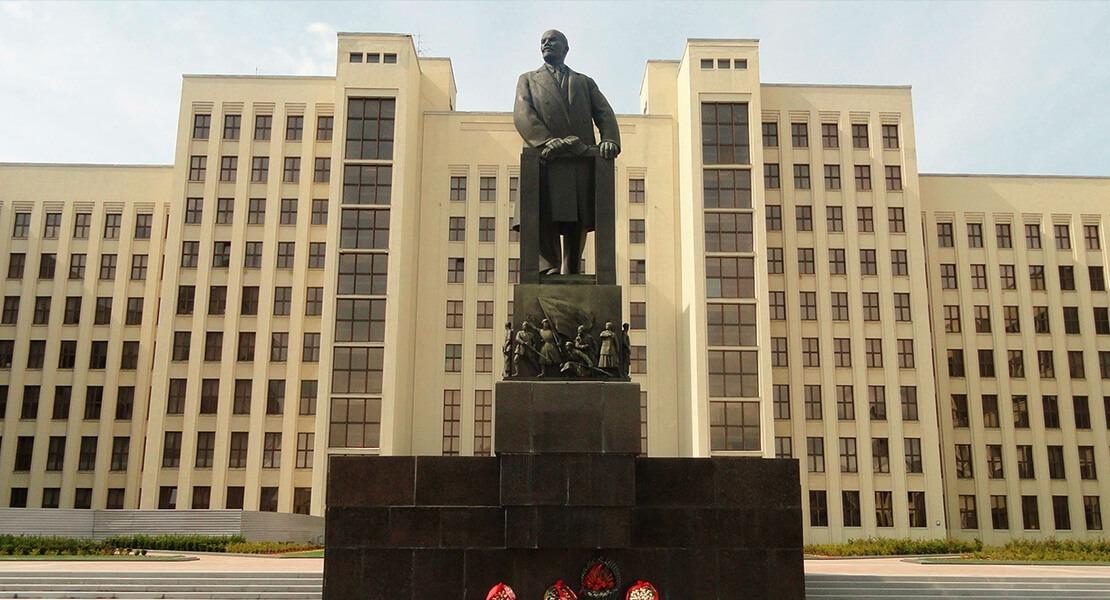 Trg nezavisnosti u Minsku - Belorusija