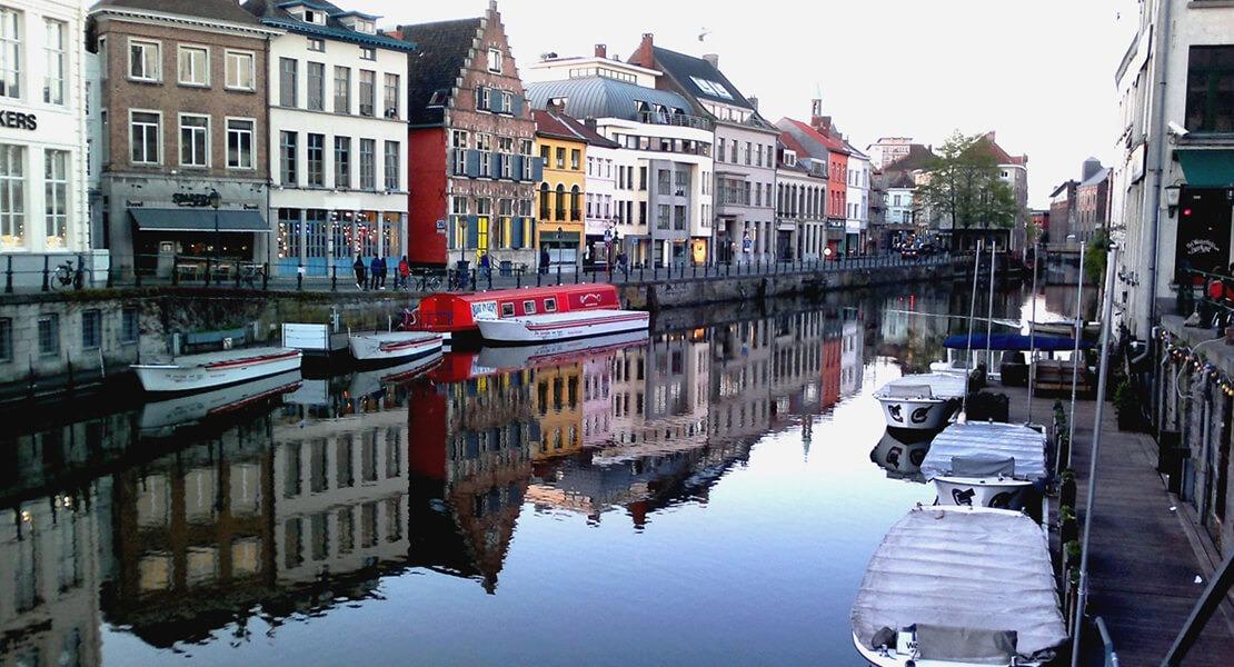 Reka Lys u Gentu