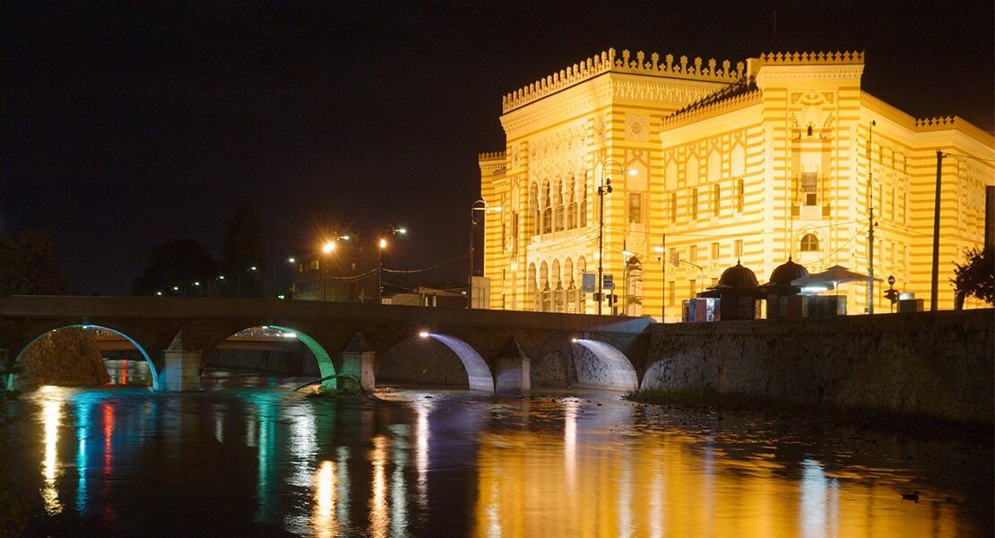Sarajevo noću