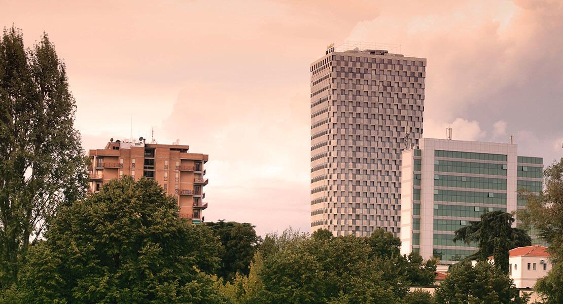 Hotel Plaza u Tirani