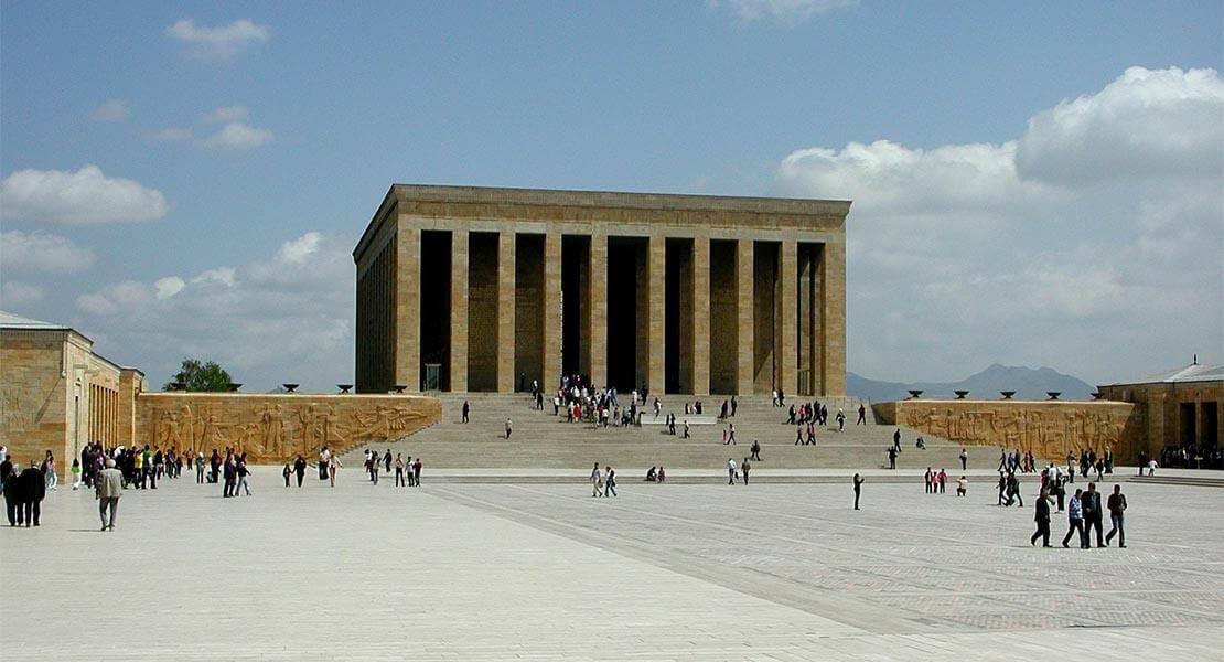 Pogled na spomenik kulture u Ankari