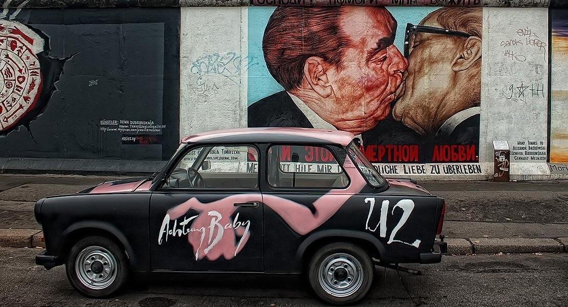 Berlinski zid, grafiti