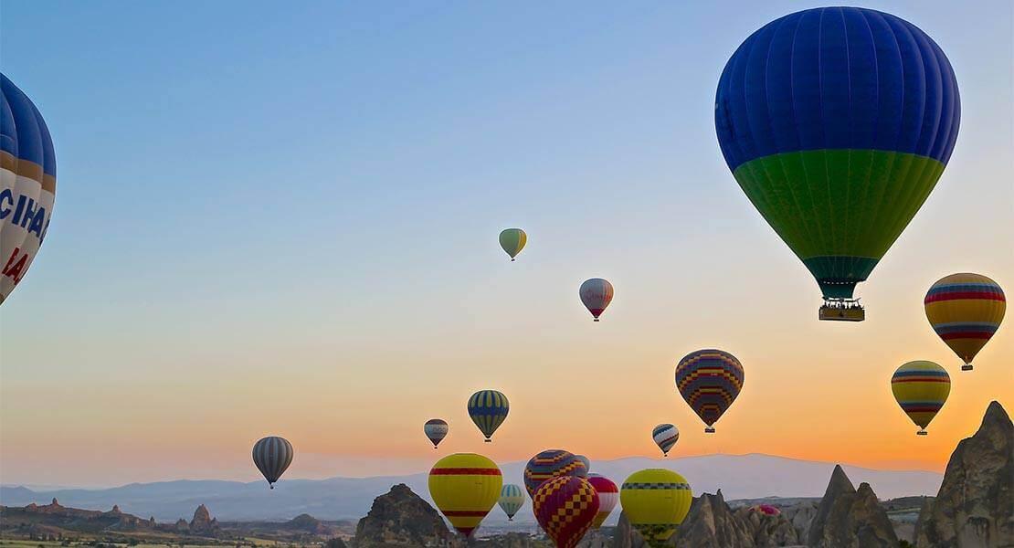 Vazdusni baloni u Kapadokiji