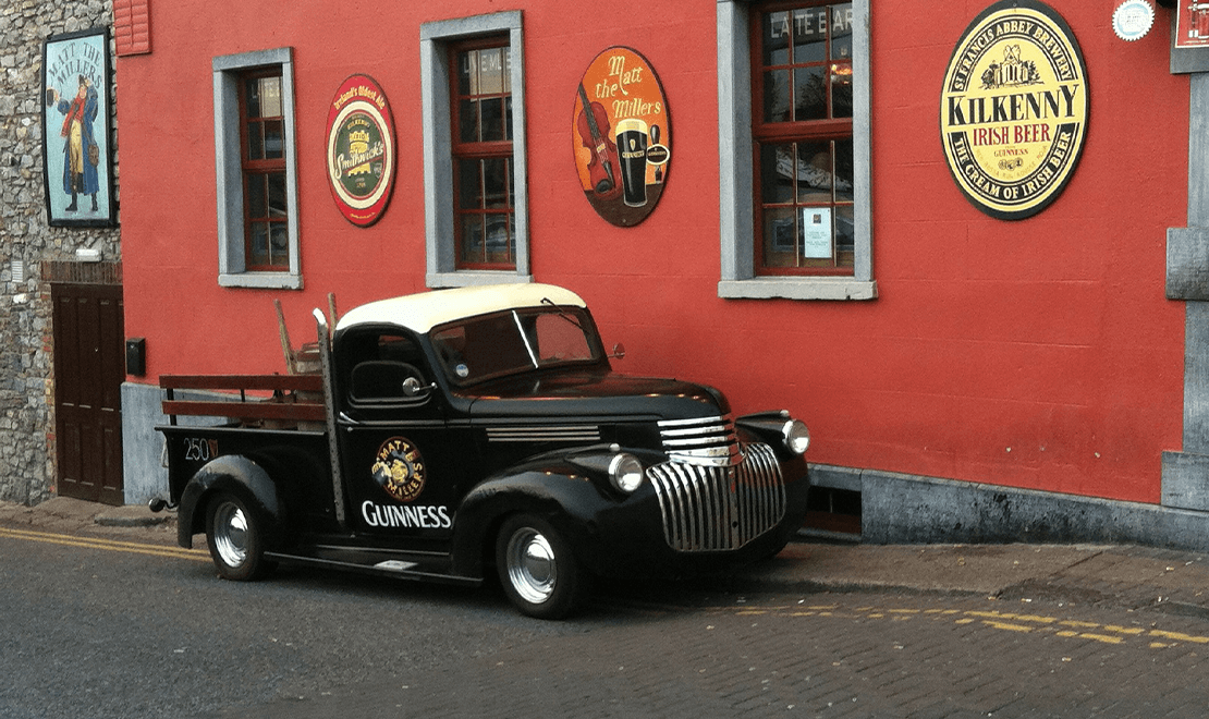 Irski pab u Kilkenima