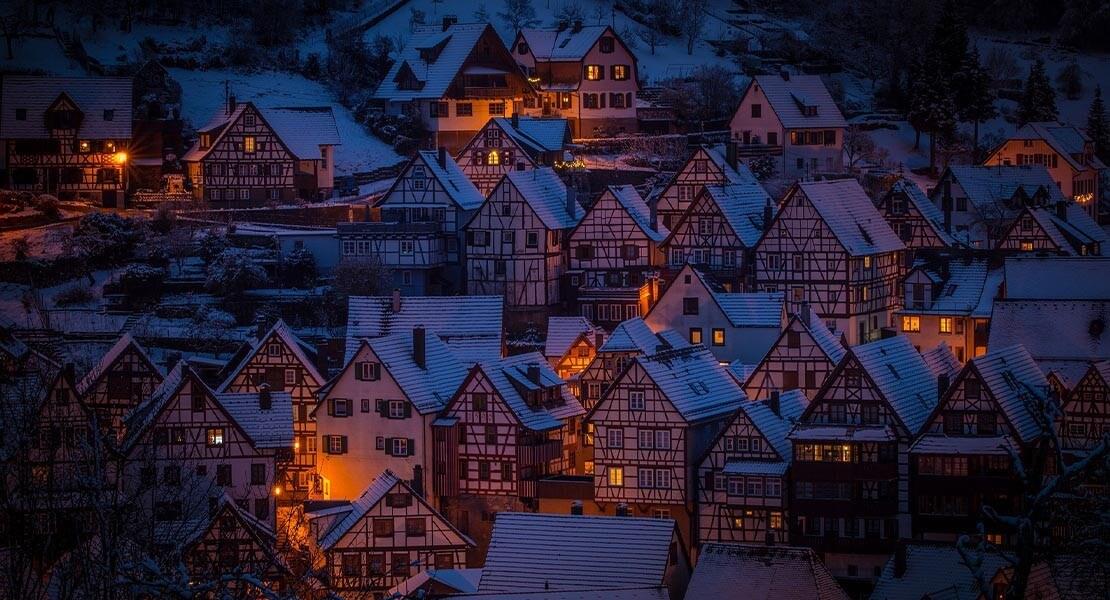 Zimska noc na Svarcvaldu