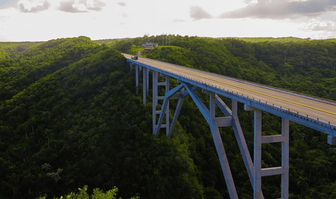 Pogled na most u Varaderu