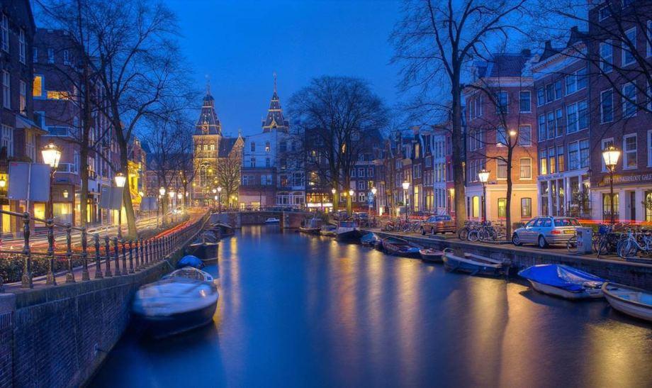 Amsterdam noću