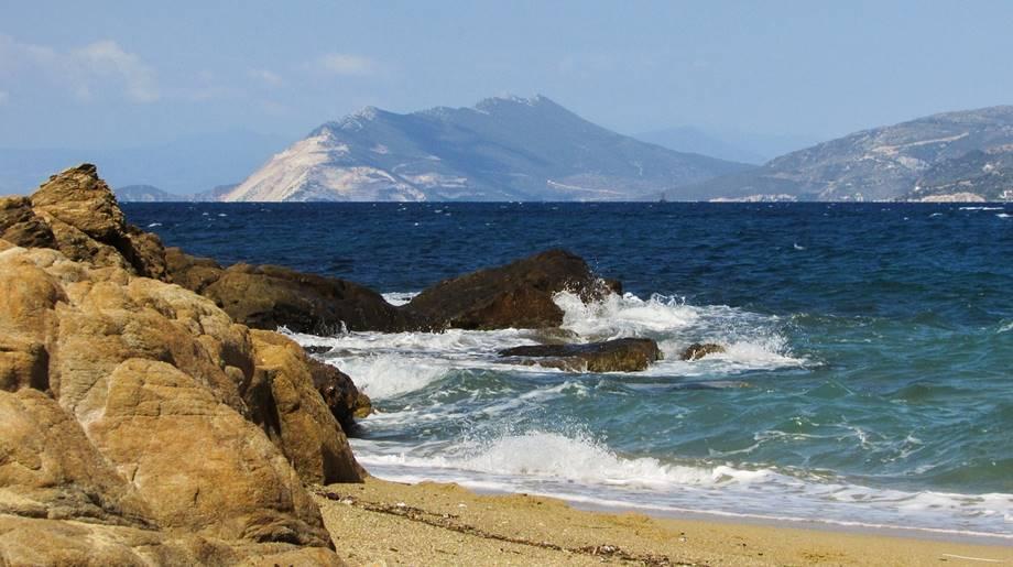 Divlja plaža u Grčkoj