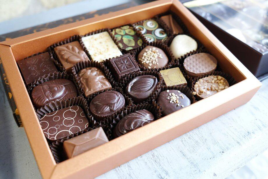 Kutija belgijskih čokoladica