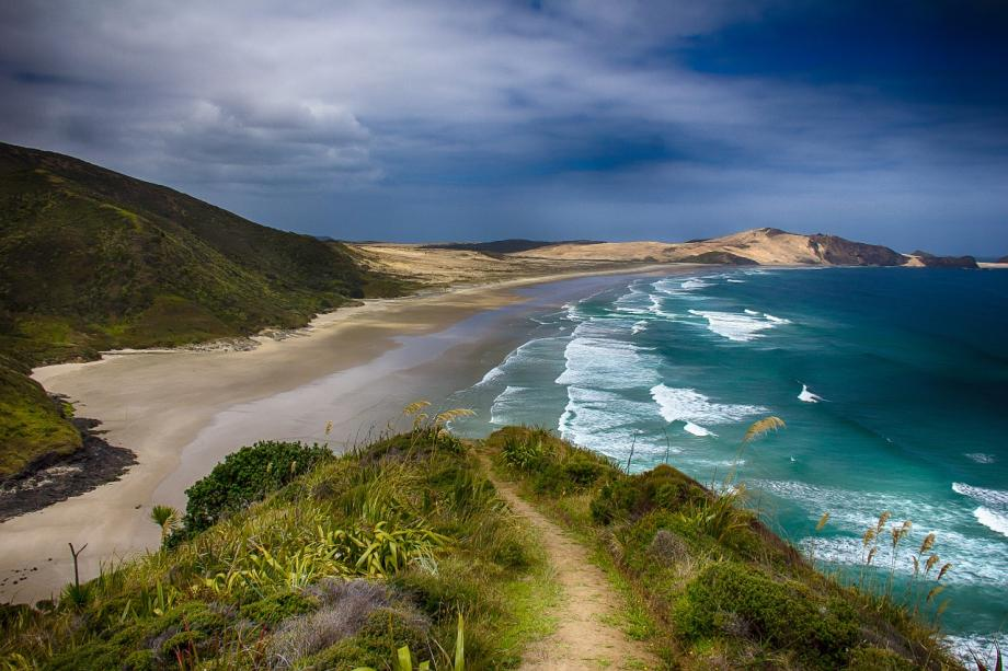 Plaža na Novom Zelandu