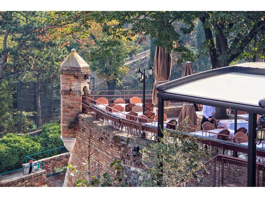 ambijent restorana kalemegdanska terasa
