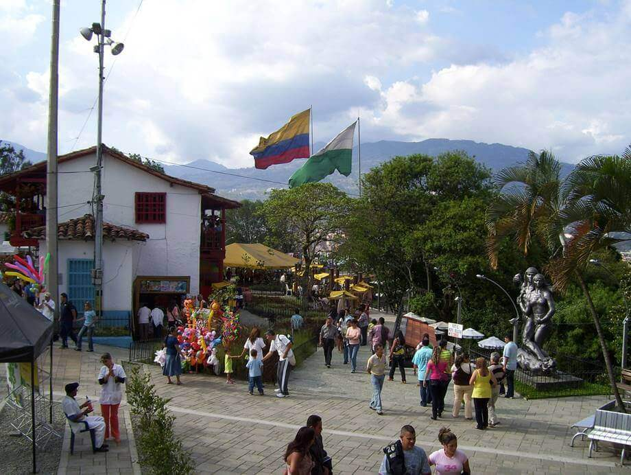 Šareni Medeljin u Kolumbiji