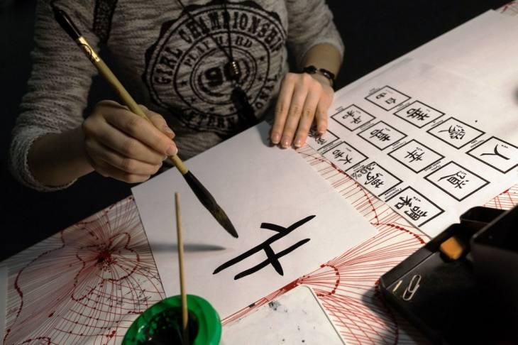 Japanska umetnost lepog pisanja shodo