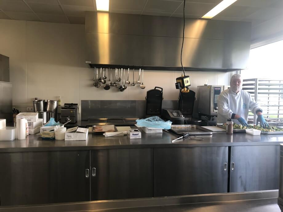 Pekara u kojoj se sprema pomoć u hrani