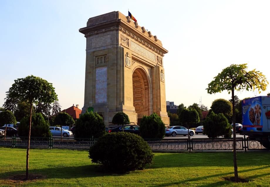 Trijumfalna kapija u Bukureštu