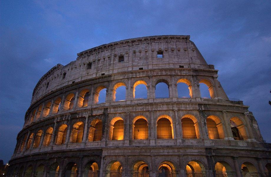Građevina koloseum u Rimu