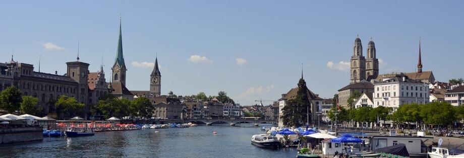 Panorama grada Ciriha sa jezera