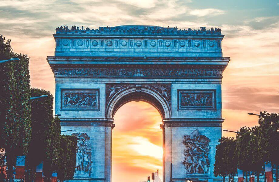 Trijumfalna kapija u Parizu