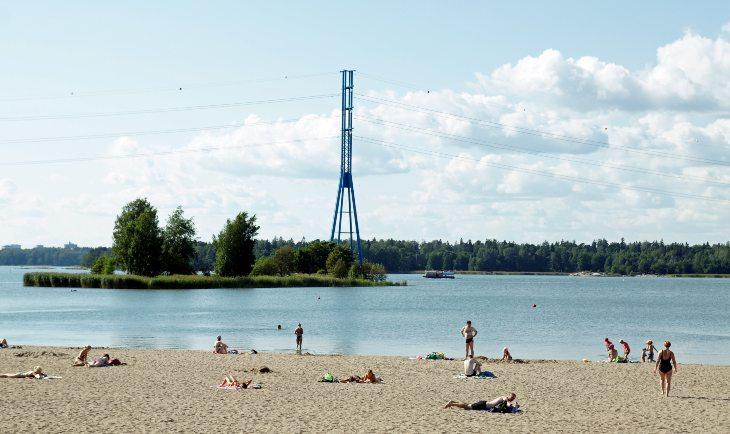 Hieteniemi plaža u Helsinkiju