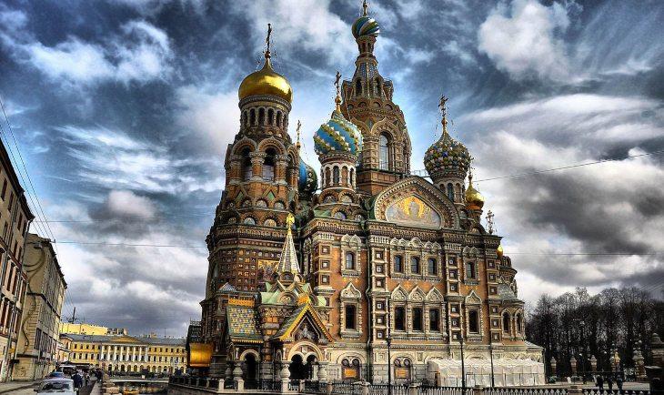 Crkva Hristovog vaskrsenja u Rusiji