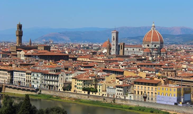 Panorama grada Firence