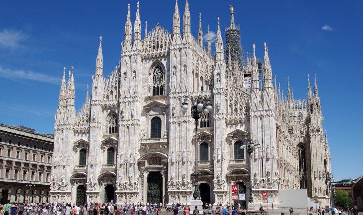 Fotografija Milanske katedrale