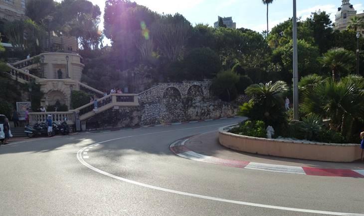 Ulica u Monaku za održavanje trka