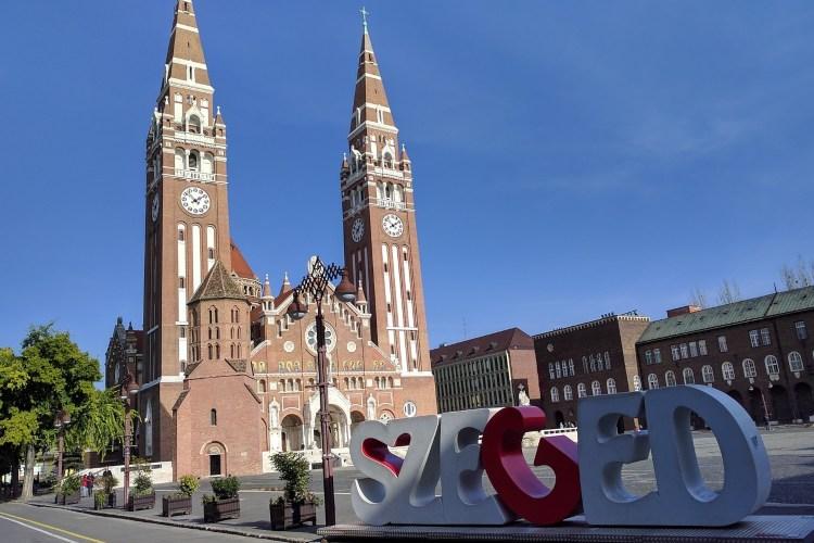 Gradski trg u Segedinu