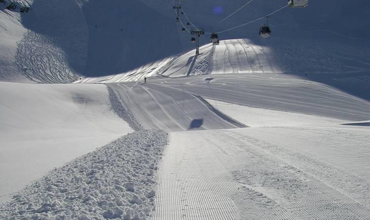 Ski staza sa snegom