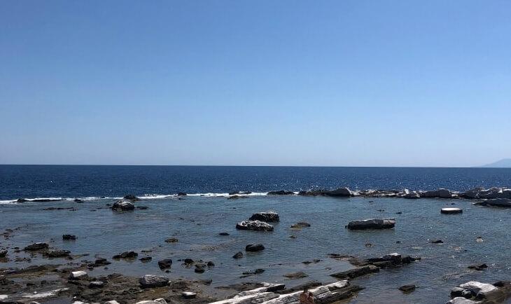 Pučina na moru u Tasosu