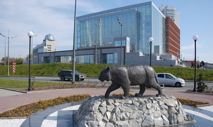 Pogled na zgradu u Vladivostoku