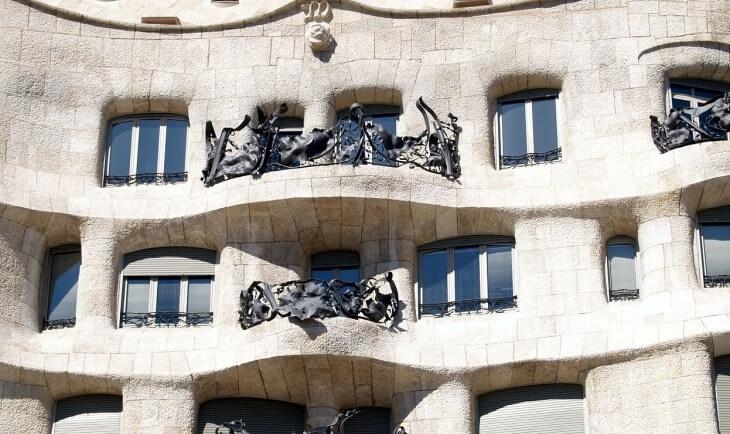 Zgrada koju je projektovao Gaudi