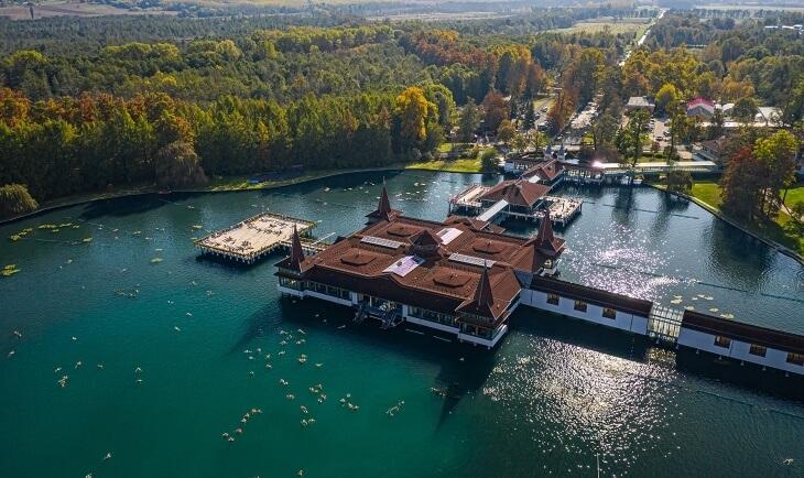 Heviz jezero u Mađarskoj