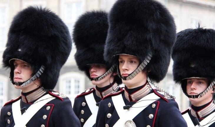 Kraljevska garda u Kopenhagenu